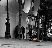 A day in Paris #2 by Mariusz Sprawnik