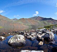mountain lake by sergeylukianov