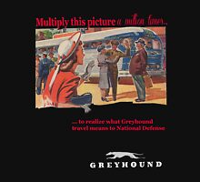 Greyhound Bus Lines Unisex T-Shirt