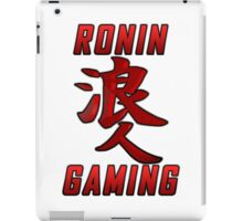 Ronin Gaming Logo (tall) iPad Case/Skin