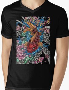 Japanese koi fish  Mens V-Neck T-Shirt