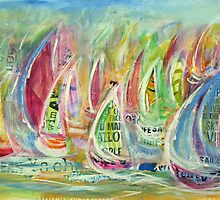 Candy Seas by Wendy Eriksson