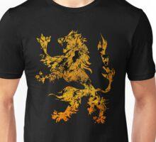 Lion Heraldry Griffin - Heraldic Grungy Unisex T-Shirt