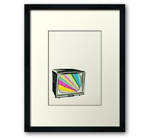 Your Programme Will Resume Shortly Framed Print