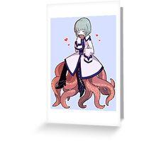 Wadanohara - Octopus Boyfriend Greeting Card