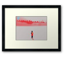Lost Superhero Framed Print