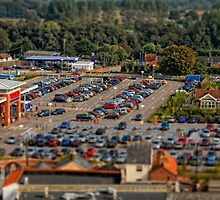 Dinky Tescos by Simon Duckworth