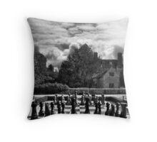 Groomsbridge Park B/W Throw Pillow