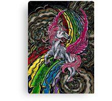 Zeus Pegasus  Canvas Print