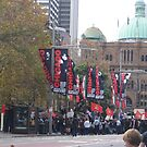 Protest Parade - Sydney Town Hall area by KazM