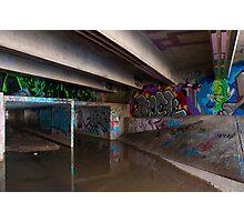 Under the Bridge Photographic Print