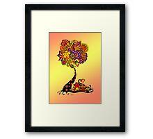All Under One Tree  Framed Print