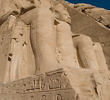 Ramases II Temple Abu Simbel by KenByrne