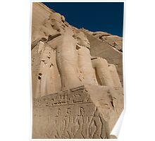 Ramases II Temple Abu Simbel Poster