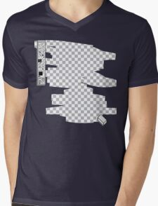 Invisible Mens V-Neck T-Shirt