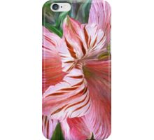 Lily Moods - Red iPhone Case/Skin