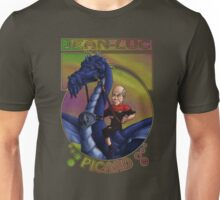 Jean-Luc Picard and the Dragon Unisex T-Shirt