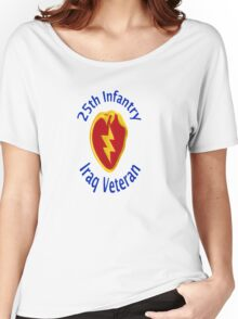 25th Infantry - Iraq Veteran Women's Relaxed Fit T-Shirt