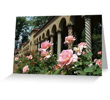 Franciscan Monastery Rose Garden, Washington DC Greeting Card