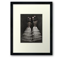 The Insomnia Twins Framed Print