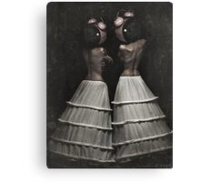 The Insomnia Twins Canvas Print