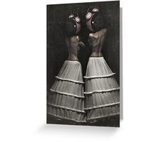 The Insomnia Twins Greeting Card
