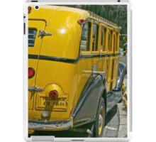 Yellowstone Bus iPad Case/Skin