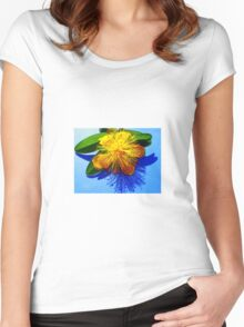 Shadow of Nature Women's Fitted Scoop T-Shirt