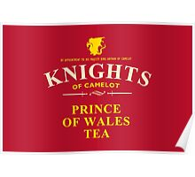 KNIGHTS Of Camelot Tea (yellow) Poster
