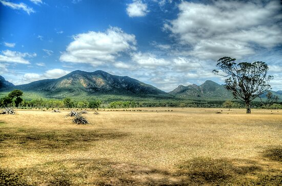 Sunburnt Country (Uncut) - The Grampians - The HDR Experience by Philip Johnson