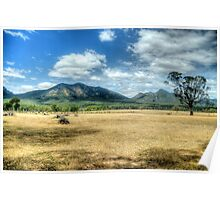 Sunburnt Country (Uncut) - The Grampians - The HDR Experience Poster