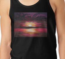 Fiery Sunset Tank Top