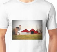 Red And White Barn Unisex T-Shirt