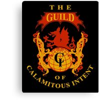 The Guild of Calamitous Intent Canvas Print