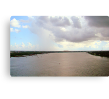 Mississippi River Canvas Print