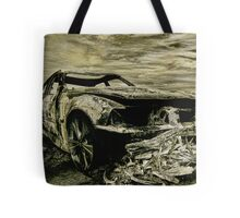 Death Car Tote Bag
