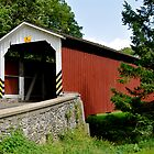 Neff's Mill / Pequea 7 Covered Bridge by Monte Morton