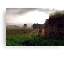 Defence Outpost Canvas Print