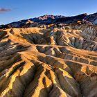 Death Valley, Zabriskie Point, CA by photo702