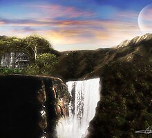 My second matte painting. by SuperSprayer