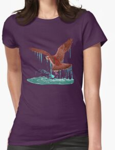 Fishing. Womens Fitted T-Shirt