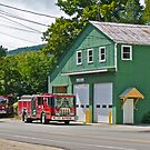"""Bartlett Fire Department"" - Conway RR Scenic Series - © 2009 SEP by Jack McCabe"