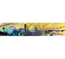 360 Degrees NW - Surf Art Photographic Print
