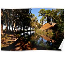Canal du Midi at Poilhes Poster
