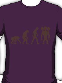 evolution - Three headed Monkey T-Shirt