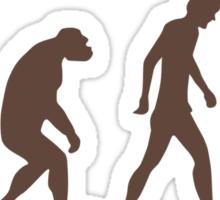 evolution - Three headed Monkey Sticker