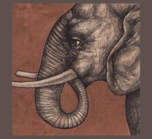 Elephant Tee by Lynnette Shelley