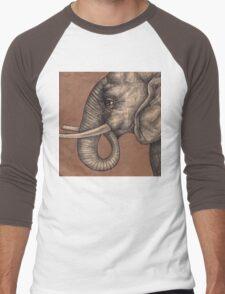 Elephant Tee Men's Baseball ¾ T-Shirt