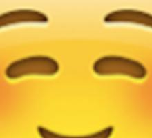 Smiling/Laughing Emoji Sticker