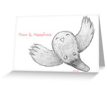 Peace & Happiness Greeting Card